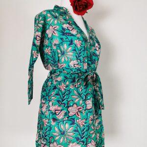 """Kimono kurz """"Meereisblumen"""" 2.te Auflage"""