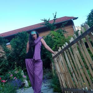 """Hose Kalima """"Lavendel"""" Eine Rose blüht am besten mit Lavendel !"""
