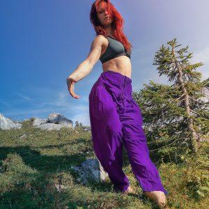 Yoga Hose Kalima, 100% Baumwolle