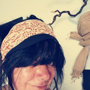 Haarband Henna