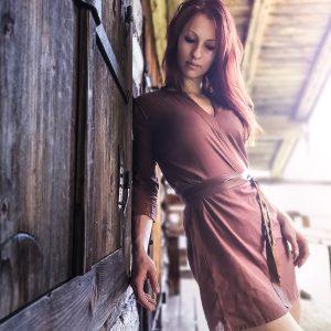 "Tunika Kleid ""Kalima"", passend zur Henna Kollektion, Kupfer"