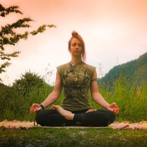 Ayurvedische Yoga Matte, Meditationsmatte